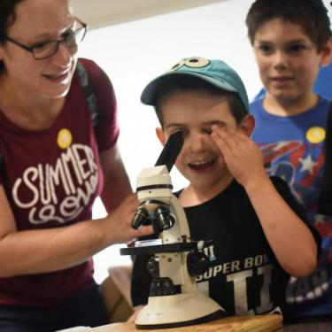 Science Saturday at the Hagley Museum: Living Code Photo