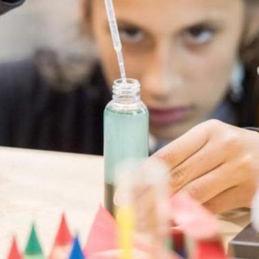 Science Saturday at the Hagley Museum: Colorful Chromatography Photo