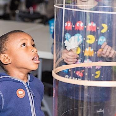 Science Saturdays at the Hagley Museum: Soaring Satellites Photo