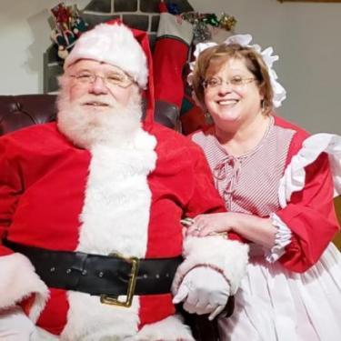 Santa Day Celebration at Hagley Photo