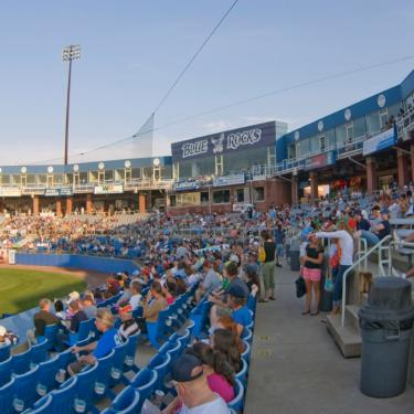 Blue Rocks vs. Bowling Green Hot Rods: The Office Night Photo