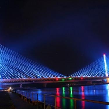Night Hike: The Indian River Inlet Bridge Photo