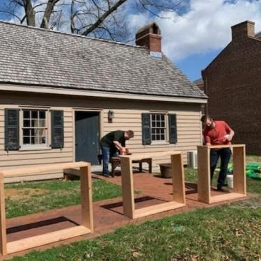 Historic Trades: Carpentry with Gabe Christy Photo