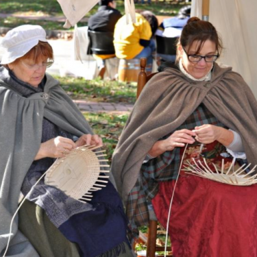 Historic Trades: Colonial Basketry with Joan Betzold Photo