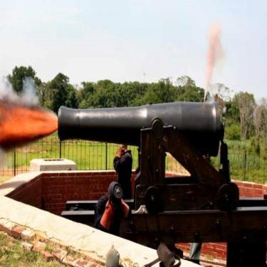 Heavy Artillery Demonstration Photo