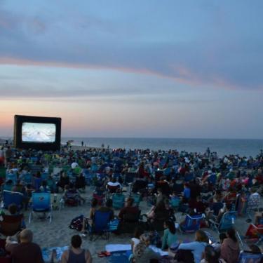 Movies on the Beach: Pokemon Detective Pikachu Photo