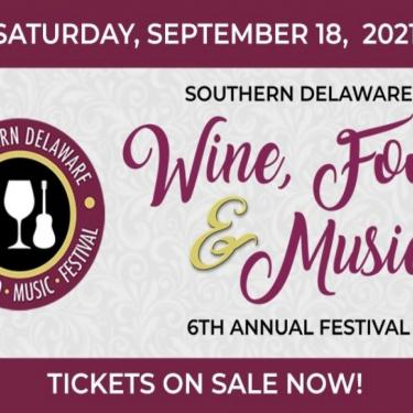 6th Annual Southern Delaware Wine, Food, and Music Festival Photo