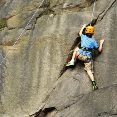 Introduction to Top Rope Rock Climbing Photo