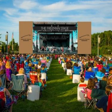 Harry Connick, Jr. and the Band at the Freeman Arts Pavilion Photo