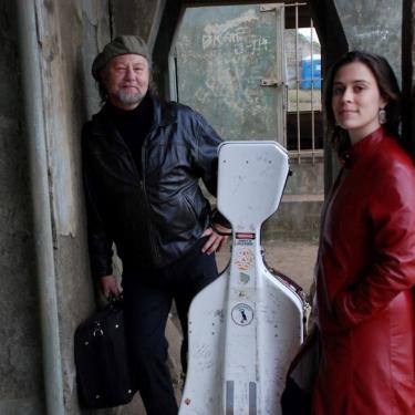 Alasdair Fraser & Natalie Haas at the Grand Opera House Photo