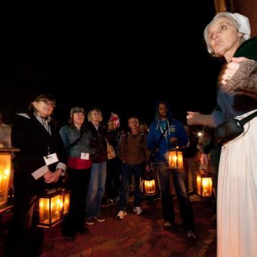 Lantern Tour: Old Methodist Cemetery Photo