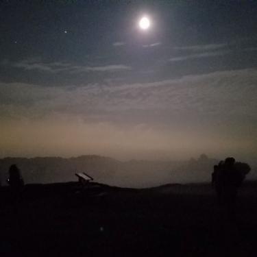 Beginner Astronomy Hike Photo