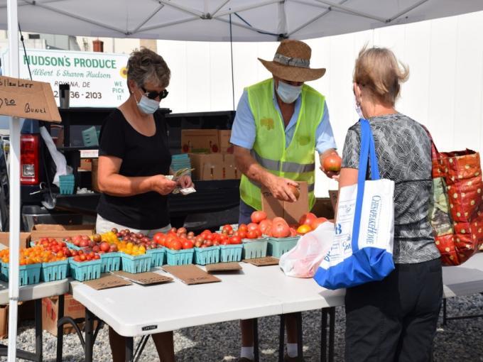 Bethany Beach Farmers' Market Photo