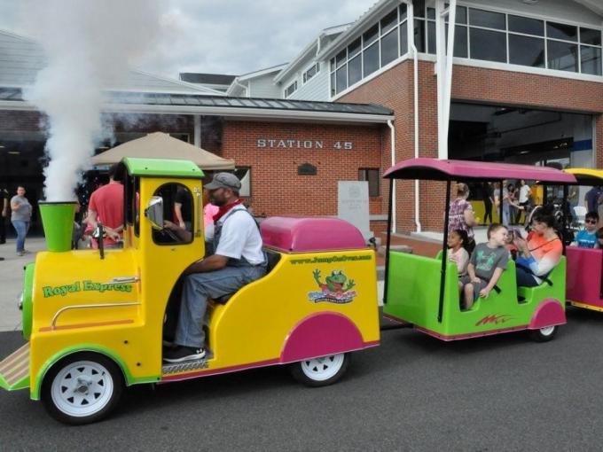 Clayton Railroad Day Photo