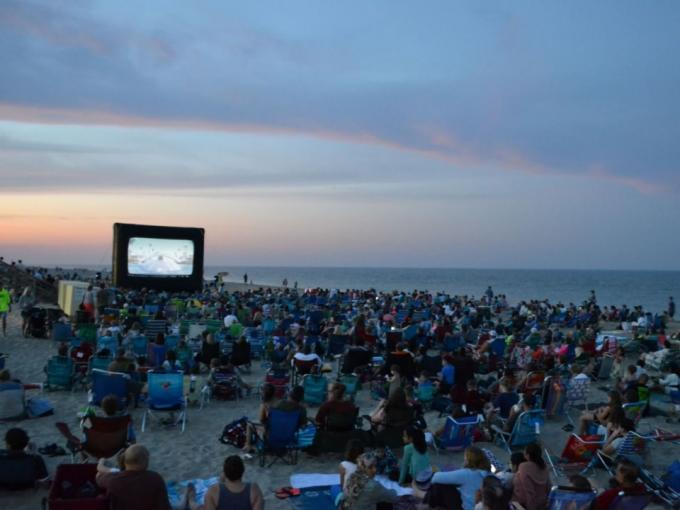 Movies on the Beach: Deep Photo