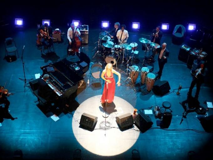 Storm Large at the Grand Opera House Photo
