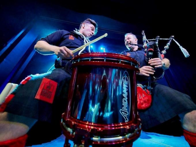 Red Hot Chilli Pipers at the Grand Opera House Photo