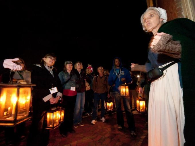 Lantern Tour: Presbyterian Cemetery Photo