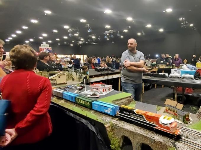 Delaware Train Show & Octoberfest Collectible Toy Show Photo