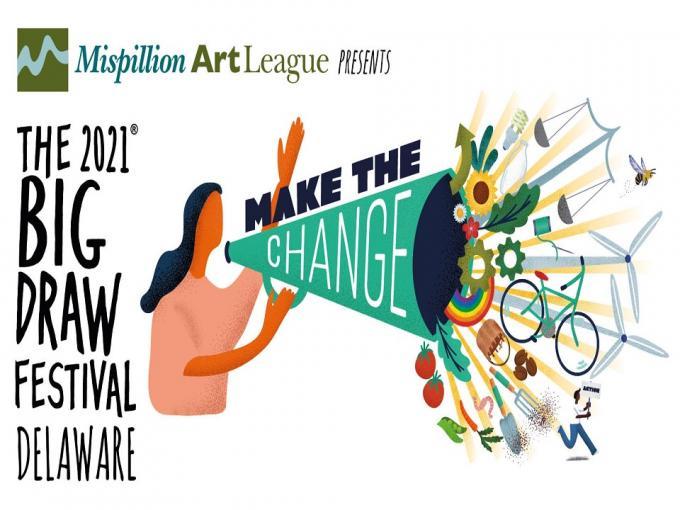 The 2021 Big Draw Festival DE Photo